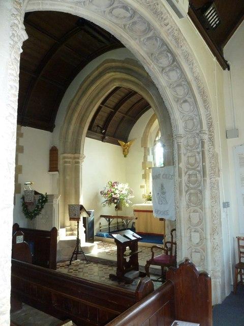 Inside St. Giles, Hooke (2)