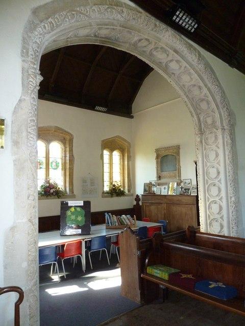 Inside St. Giles, Hooke (11)
