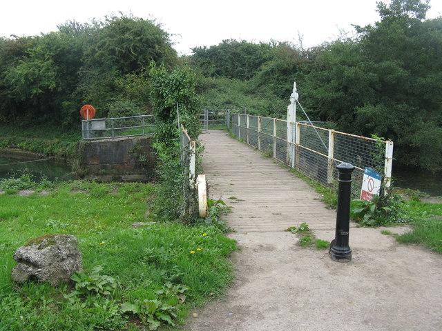 Bridge over Lydney Harbour
