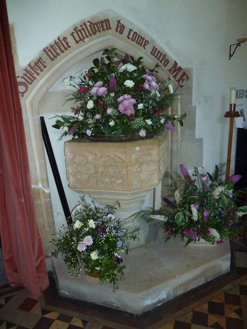 Inside St. Giles, Hooke (7)