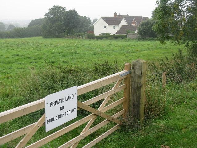 Field on Highfield Road, Lydney
