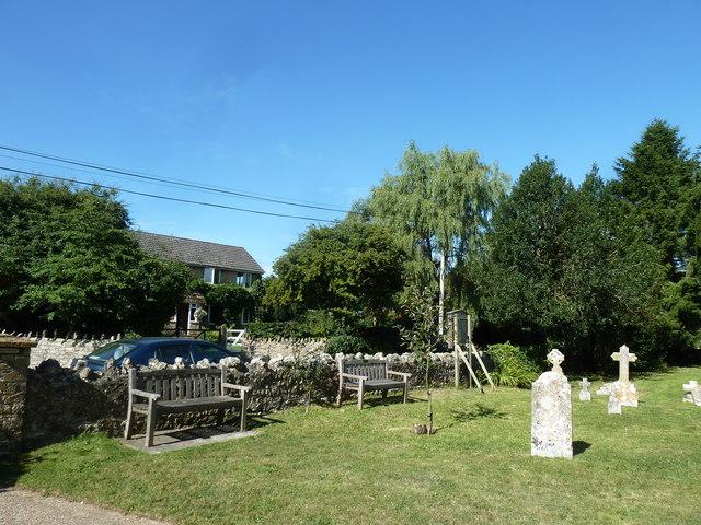 St. George, Hooke: churchyard (iii)