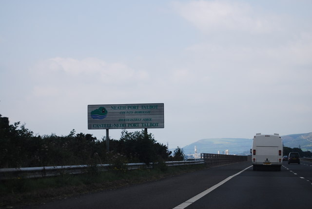 Welcome to Neath - Port Talbot, M4