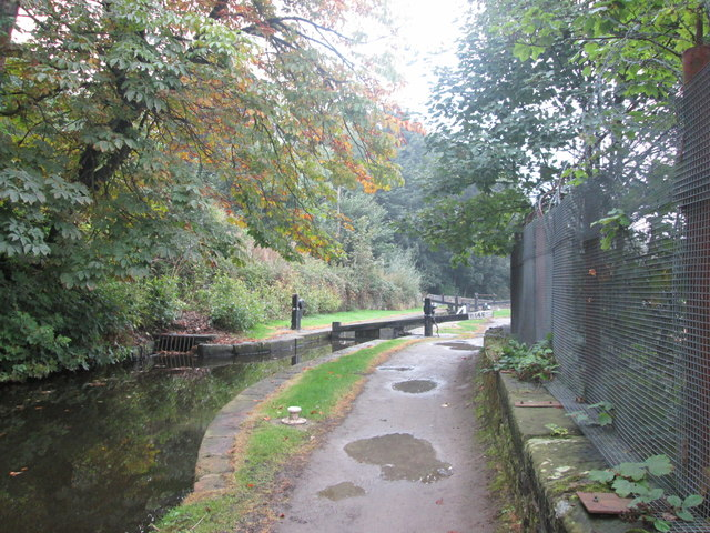 Approaching Lock 14E - Ramsden Highest