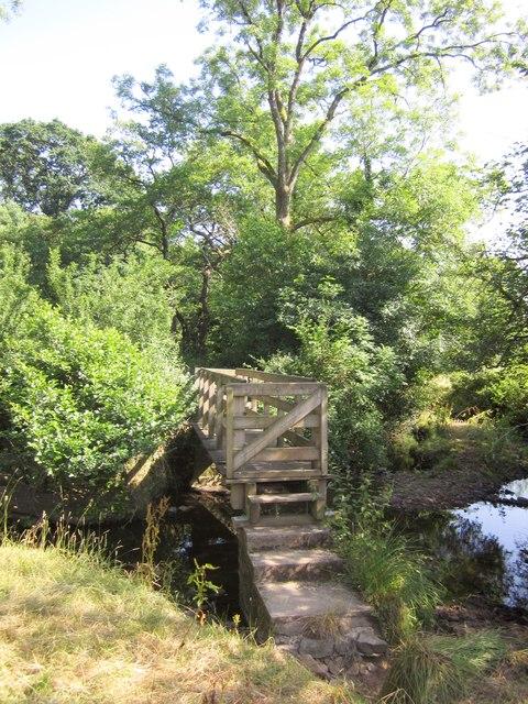 Footbridge over Adworthy Brook