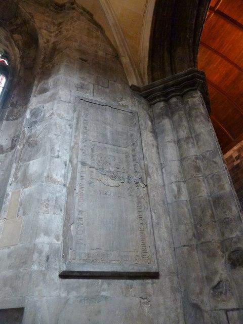 Paisley Abbey: the Cardonald Stone