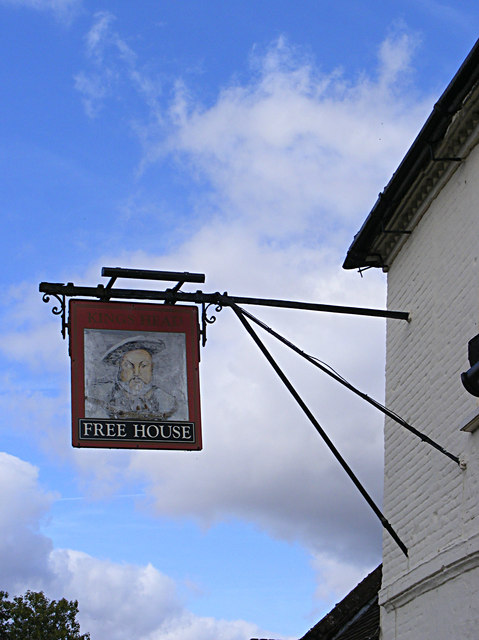 Kings Head Public House sign