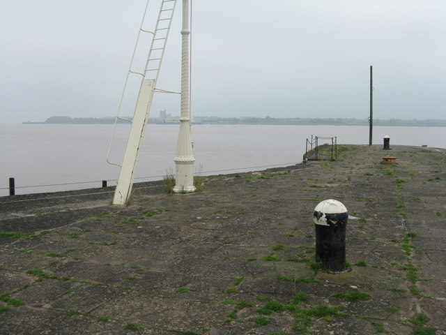 The end of the pier, Lydney Harbour