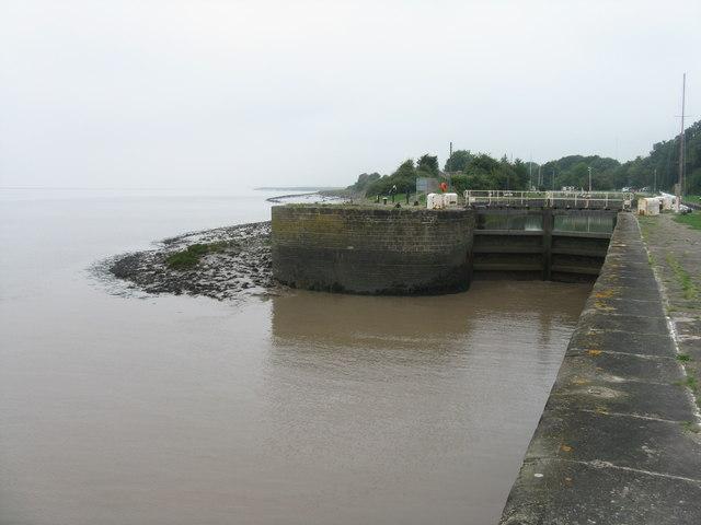 Lydney Harbour entrance