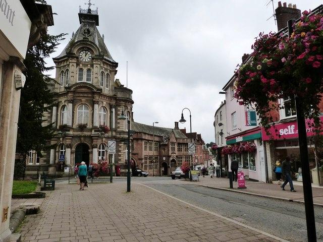 Town Hall Tiverton, Devon
