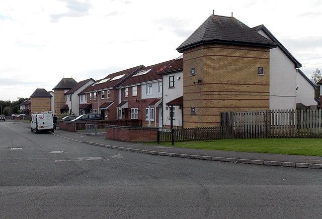 Heol Eifion houses, Gorseinon