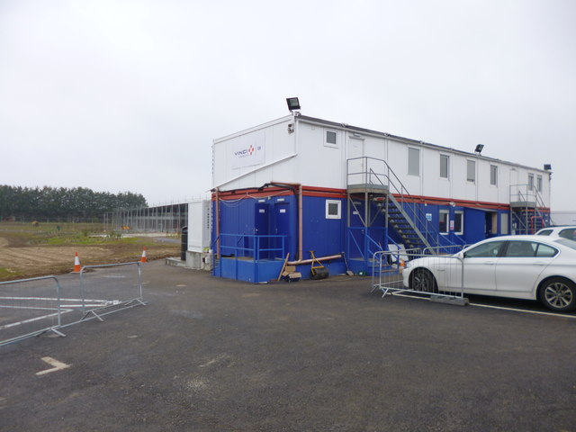 Winterbourne Stoke, site office