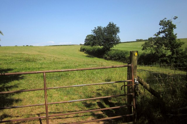 Footpath to West Yeo