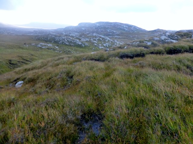 Crossing Damp Moorland