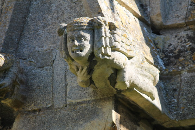 Stone Carving, St Chad's church, Welbourn