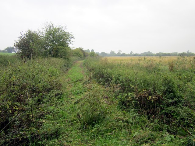 Track near Glebe Farm