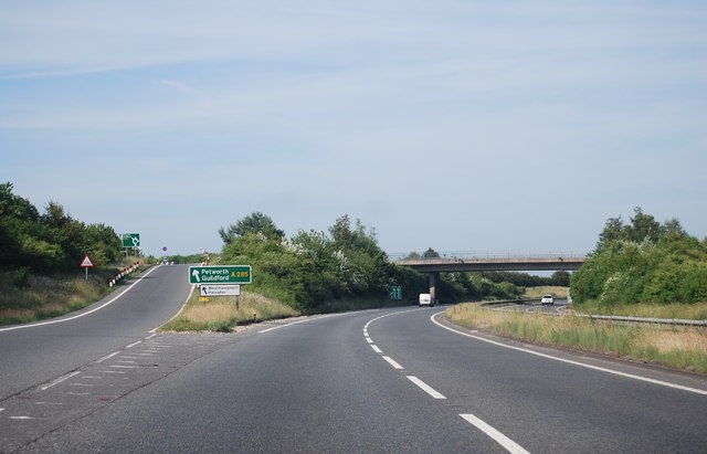 A27 / A285 junction