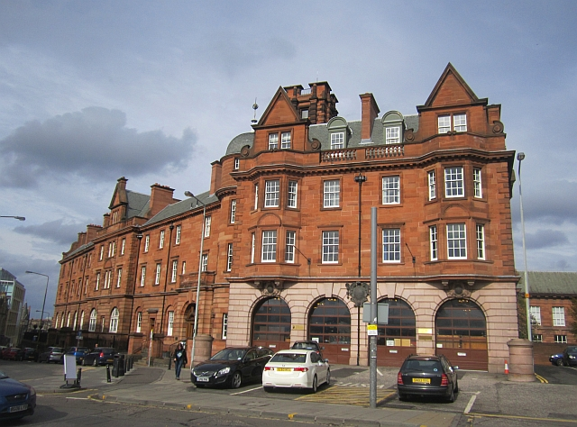 Fire station, Lauriston Place