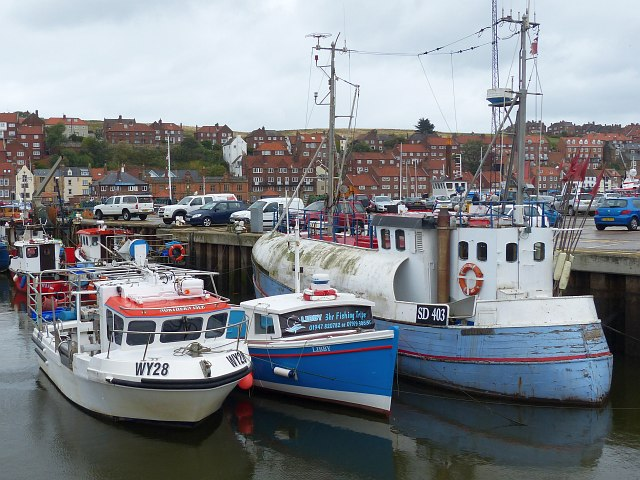 A variety of craft, Endeavour Wharf, Whitby Harbour