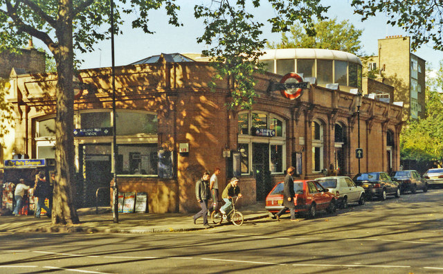 Holland Park LT station, 1993