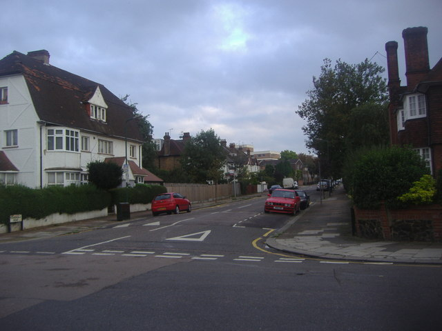 Coverdale Road at the junction of Chatsworth Road