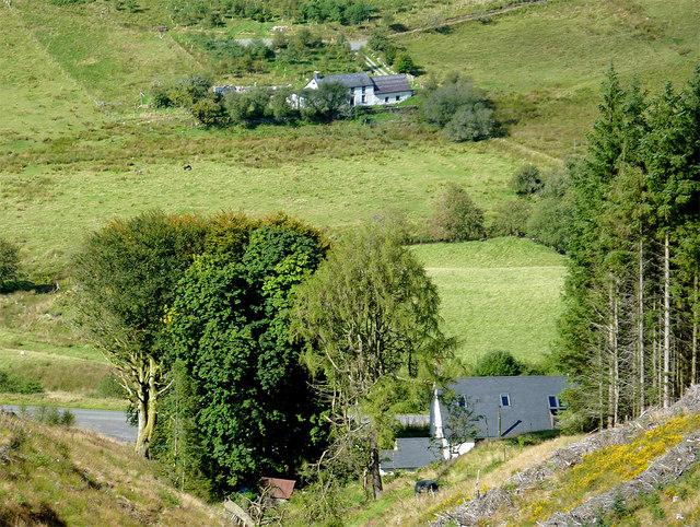 Nantyrhwch and Dolgoch in Cwm Tywi