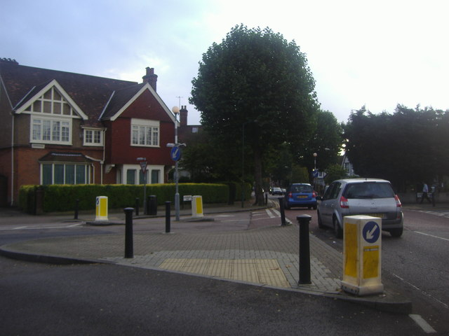 Lydford Road at the junction of Chatsworth Road