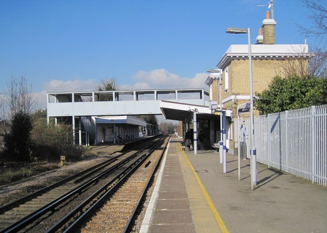 Erith railway station, Greater London
