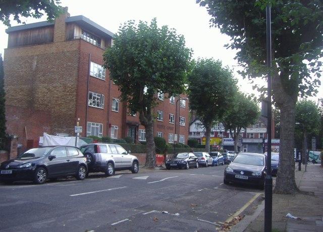 Dartmouth Road looking towards Walm Lane