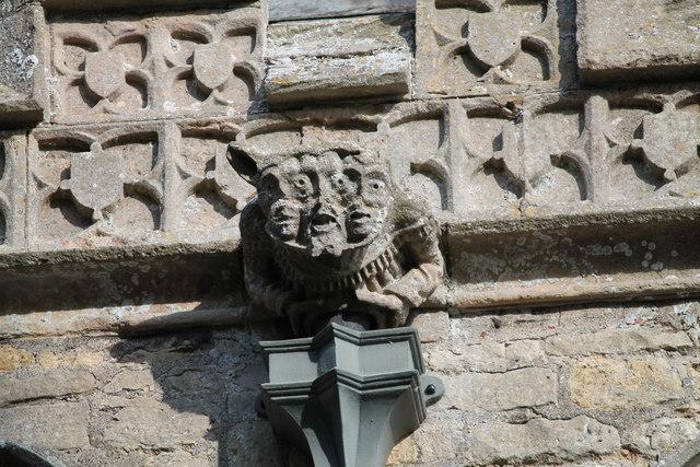 Three-faced Grotesque, St Peter's church
