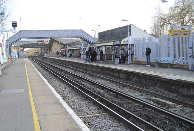 Abbey Wood railway station, Greater London