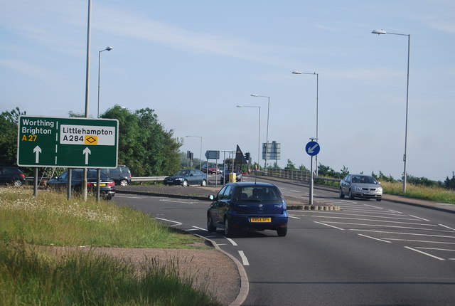 A27 / A284 junction