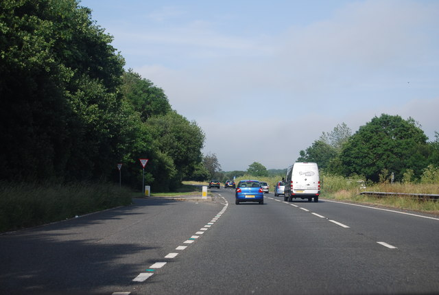 A27, Dover Lane turning