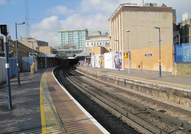 Woolwich Arsenal railway station, Greater London