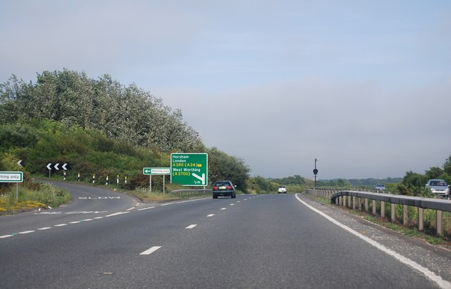 A27, Patching turning