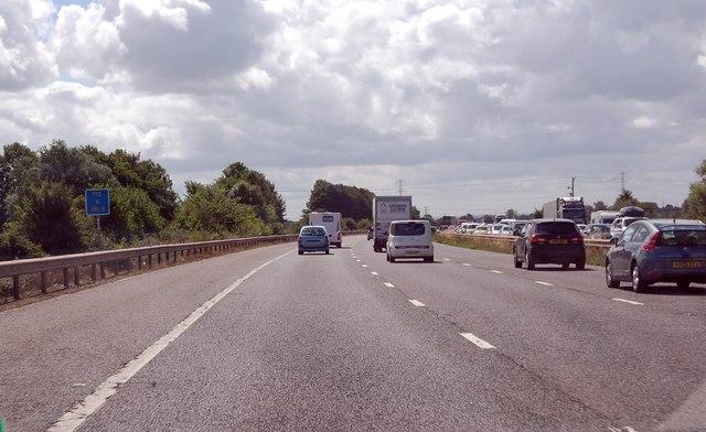 M5 east of Sydenham