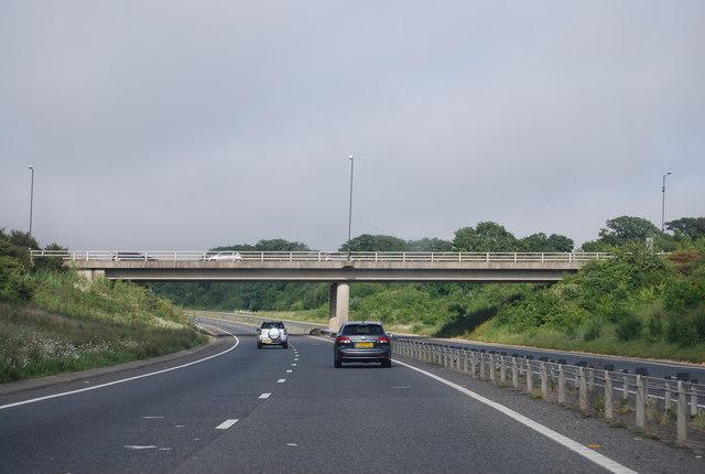 A280 overbridge, A27