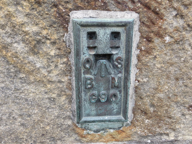 Ordnance Survey Flush Bracket G90