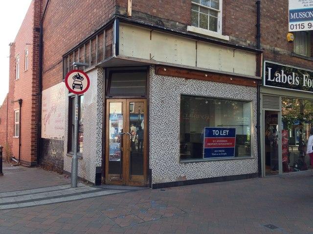 Closed Butcher's shop