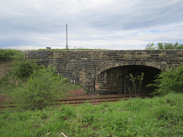 Bridge over the Glasgow - Kilmarnock railway