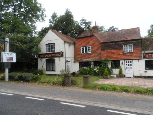 The Wheatsheaf pub, Ellen's Green