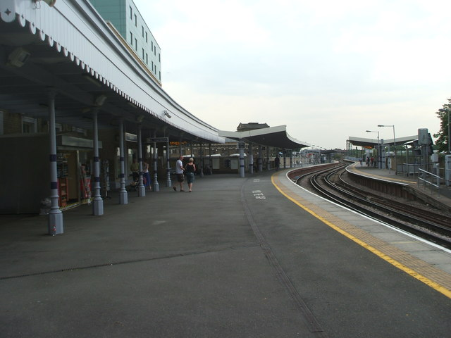 Greenwich railway station, London