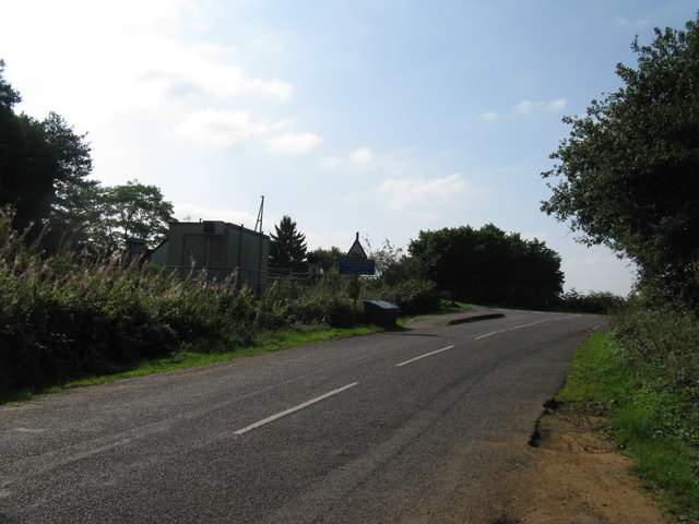 Mint Road near its junction with Forest Road, Liss Forest