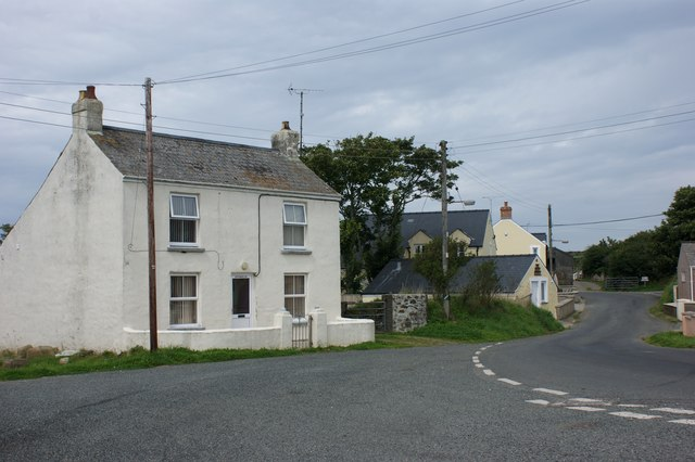 Centre of the village, Treffynnon