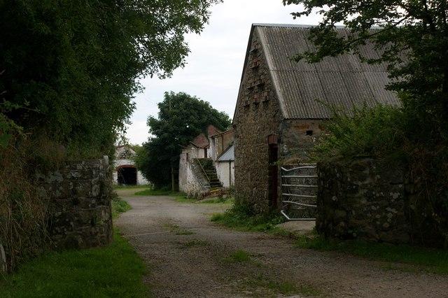 Farmyard at Treyscaw