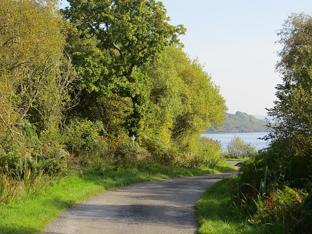 Road near Clate Point