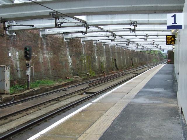 Dalmarnock railway station