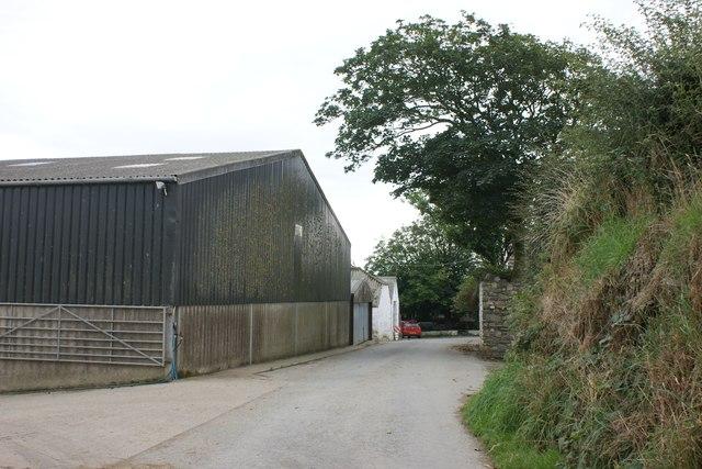 Farmyard at Treglemais Fawr
