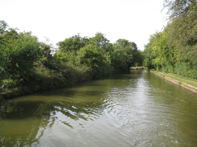 Grand Union Canal: Reach in Simpson