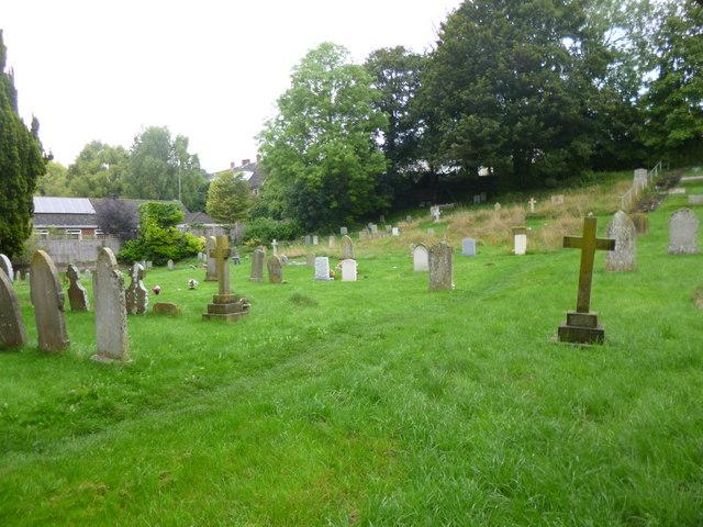 Shrewton, churchyard